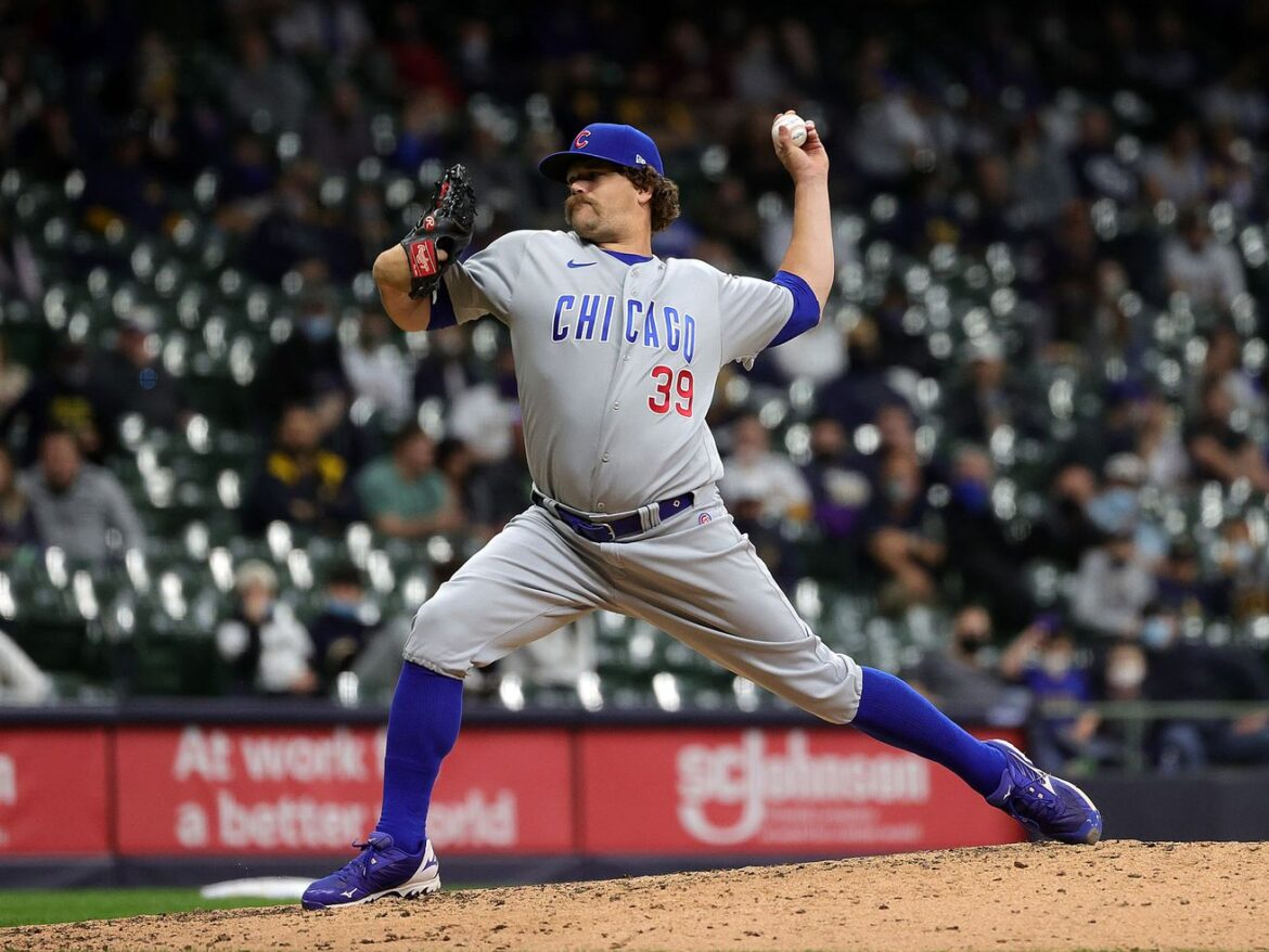 Cubs start dealing as left-hander Andrew Chafin sent to A's for two minor-leaguers