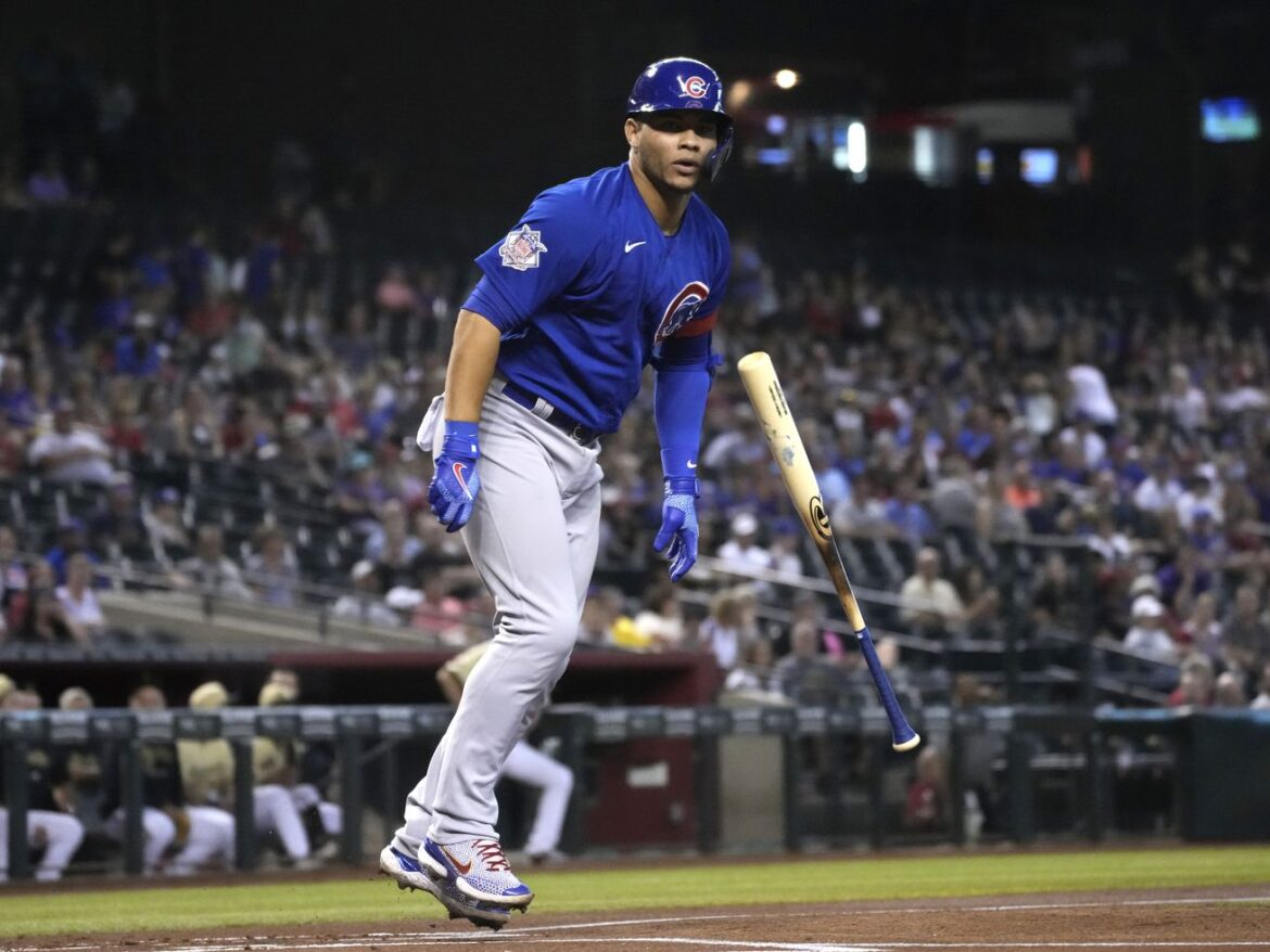 Willson Contreras' two-run blast caps ninth-inning comeback in Cubs 4-2 win over the DBacks
