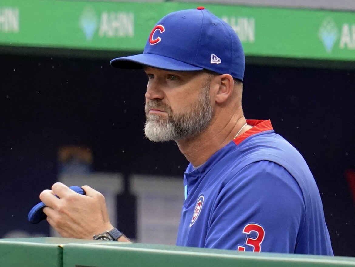 Manager David Ross on Cubs' second half: 'We just got to focus on today'