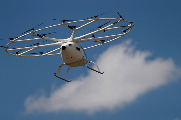 Air taxi startup Volocopter gains key production certification