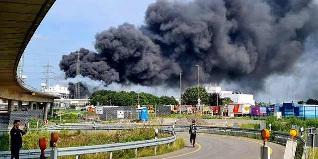 Explosion at chemical complex in German city of Leverkusen