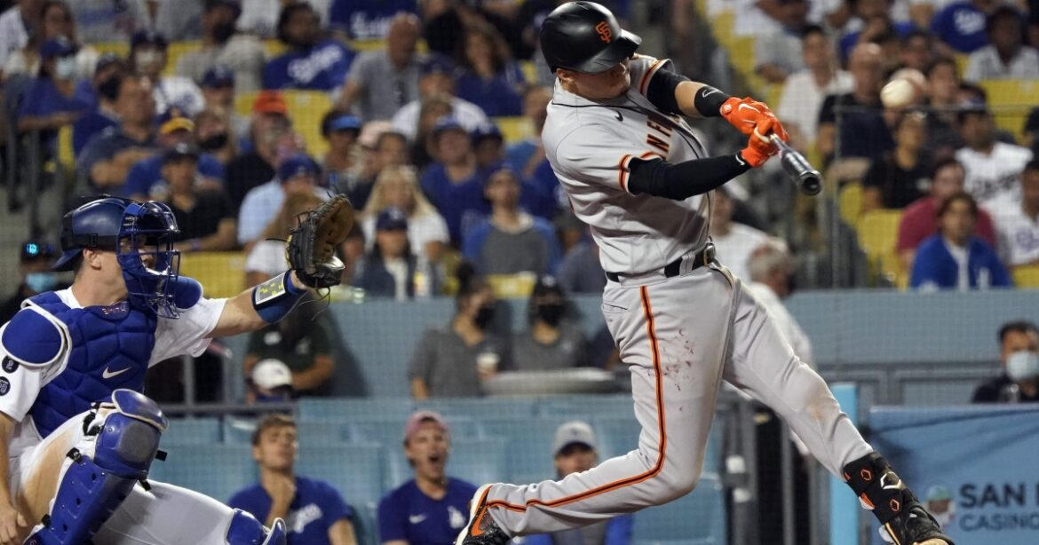 The Sports Report: Giants score three in ninth to defeat Dodgers