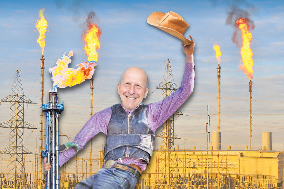 Goldman Sachs caught in flareup over natural gas pollution in North Dakota