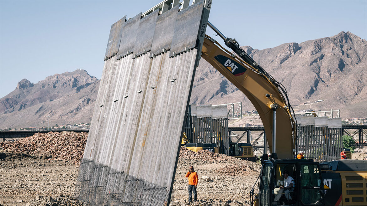 House Republicans call for renewal of wall construction contracts in new border security plan