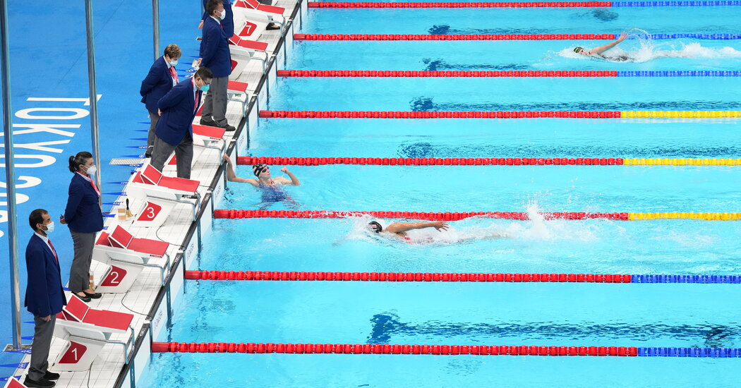 How Cool is the Olympic Pool? Length, Temperature and Airhorns
