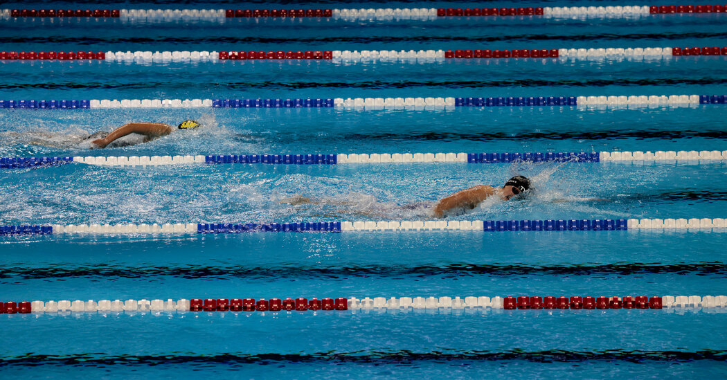 How Many Laps is the 1,500-M in Swimming? Here's What You Need to Know
