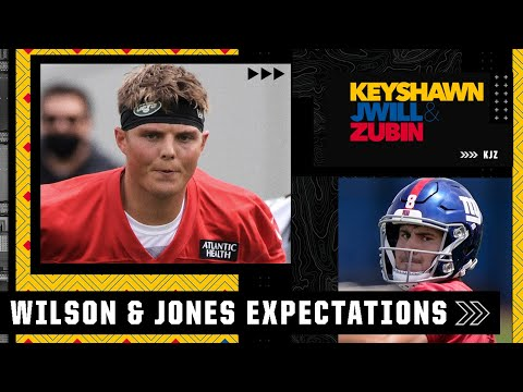 Expectations for Zach Wilson's rookie season and Daniel Jones taking the next step   KJZ