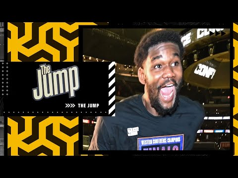 Deandre Ayton on what making the NBA Finals means to him ☀️| The Jump