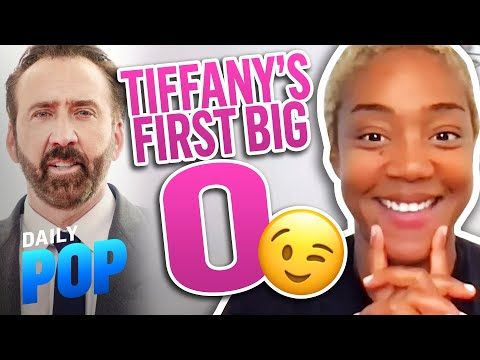 Tiffany Haddish Had Her First Orgasm During a Nicolas Cage Movie   Daily Pop   E! News