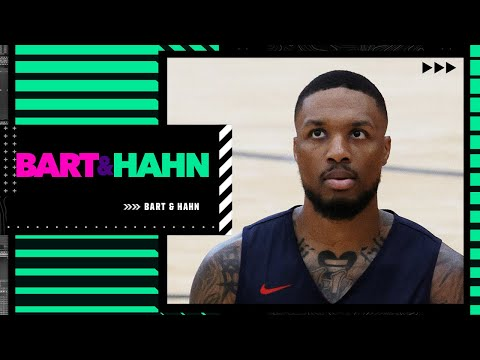 Dissecting Damian Lillard's comments about trade rumors and future with the Blazers   Bart and Hahn