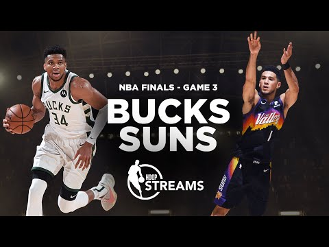 Can Giannis bring a win home to Milwaukee? Bucks vs. Suns | NBA Finals Game 3 preview | Hoop Streams
