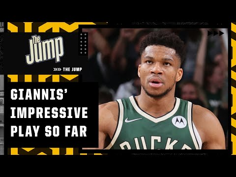 Kendrick Perkins says Giannis can sustain this level of play all series 👀   The Jump
