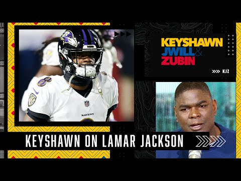 Keyshawn reacts to Lamar Jackson playing pickup football: He should be wrapped in bubble wrap!   KJZ
