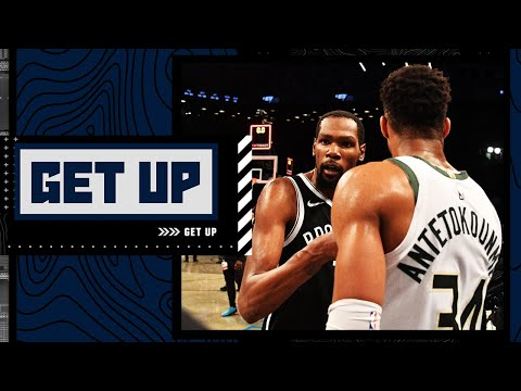 'Just be Giannis, don't try to be Kevin Durant' – Perk's Finals advice to Antetokounmpo | Get Up