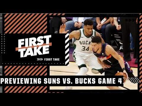 Max explains why the Suns have the edge in the series over the Bucks   First Take
