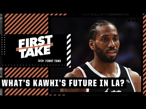 Reacting to Kawhi getting ACL surgery: What's his future with the Clippers? | First Take