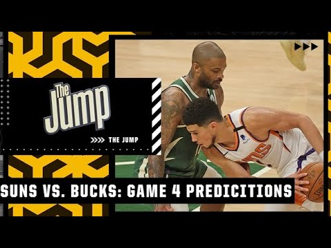 Suns or Bucks: The Jump makes their picks for Game 4 of the NBA Finals