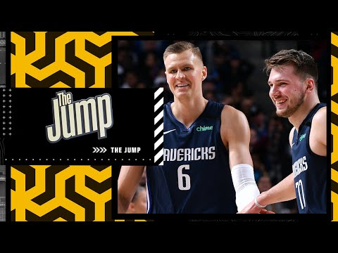 Reacting to Jason Kidd saying Kristaps Porzingis is the perfect fit with Luka Doncic | The Jump