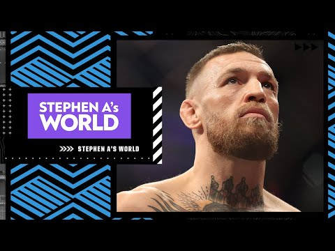Conor McGregor is talking nonsense about #UFC264 loss – Stephen A. Smith | Stephen A.'s World