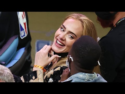 Adele Looks Cozy With Lebron James' Agent Rich Paul