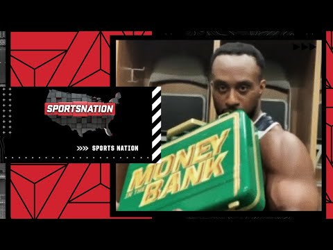 Big E can't stop kissing his WWE Money in the Bank briefcase | SportsNation