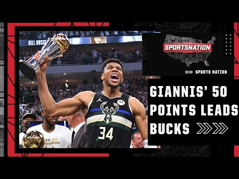 Recapping Giannis' legendary 50-point performance to win the Bucks the NBA title | SportsNation