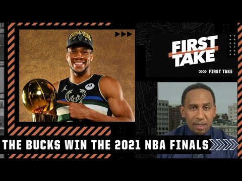 Stephen A. reacts to Giannis leading the Bucks to an NBA championship | First Take