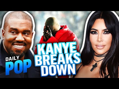 Kanye West Cries at Listening Party With Kim Kardashian   Daily Pop   E! News