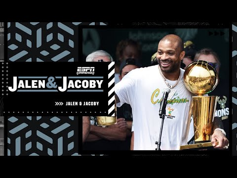 Jalen Rose loves P.J. Tucker's 'WE DOGS' speech and the Bucks' championship parade | Jalen & Jacoby