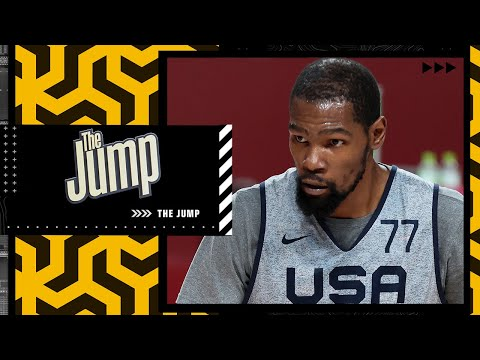 'USA Basketball WILL make a statement against France' – Kendrick Perkins | The Jump