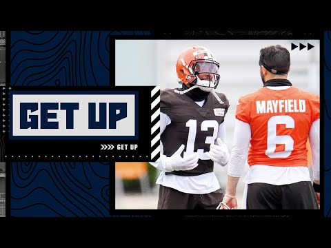 Comparing Baker Mayfield's stats with and without Odell Beckham on the field | Get Up