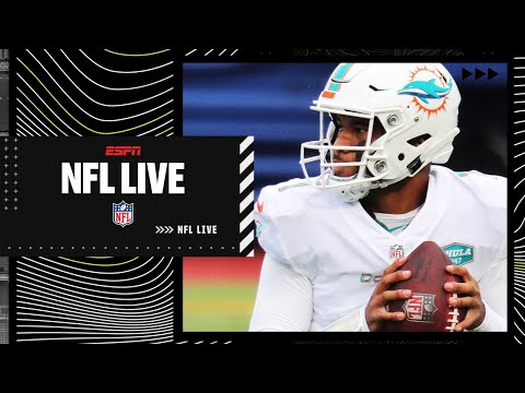 Discussing expectations for Tua Tagovailoa and the Dolphins | NFL Live