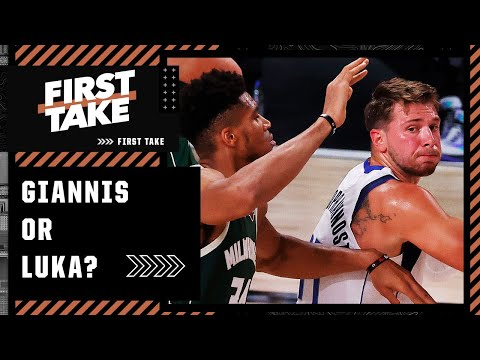 Giannis or Luka Doncic: Who would you rather build a team around?   First Take