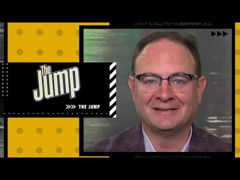 Woj says 76ers are looking for a 'James Harden-type package' for Ben Simmons | The Jump
