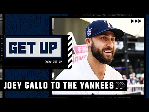 Joey Gallo 'checks so many boxes' for the Yankees – Buster Olney reacts to New York's trade   Get Up