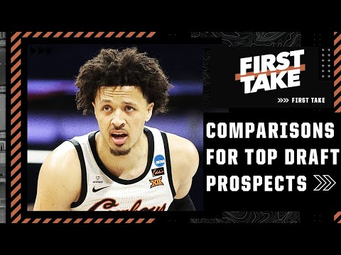 NBA comparisons for Cade Cunningham, Jalen Green, Scottie Barnes and James Bouknight   First Take