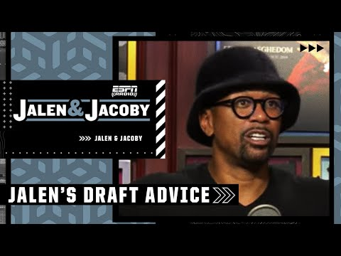 Jalen Rose's advice for 2021 NBA draft prospects   Jalen & Jacoby YouTube exclusive