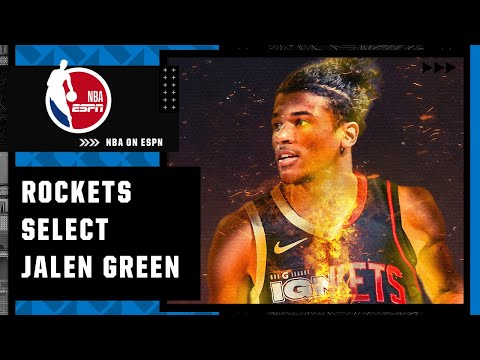 The Rockets draft Jalen Green with the No. 2 pick overall pick   NBA on ESPN