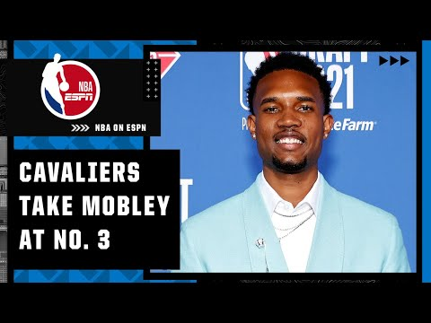 The Cavaliers select Evan Mobley with the No. 3 overall pick   NBA on ESPN