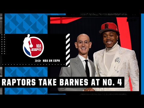 Scottie Barnes drafted by the Raptors with the No. 4 overall pick   NBA on ESPN