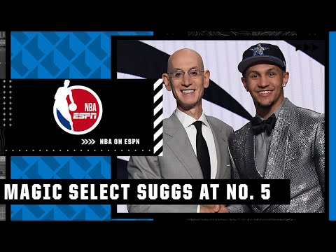 The Magic take Jalen Suggs with the No. 5 overall pick   NBA on ESPN