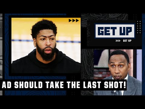 Stephen A.: AD should take the last shot for the Lakers, not LeBron or Russell Westbrook | Get Up