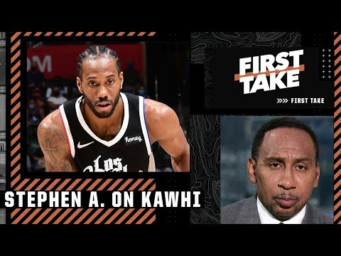 Stephen A has serious concerns about investing in Kawhi Leonard long-term | First Take
