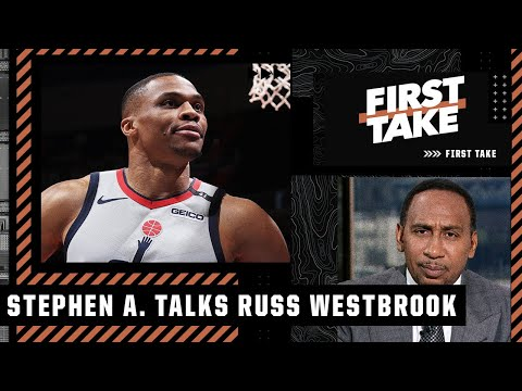 Westbrook 'don't get to have that attitude in L.A.!' – Stephen A. tells Russ to compete for a title
