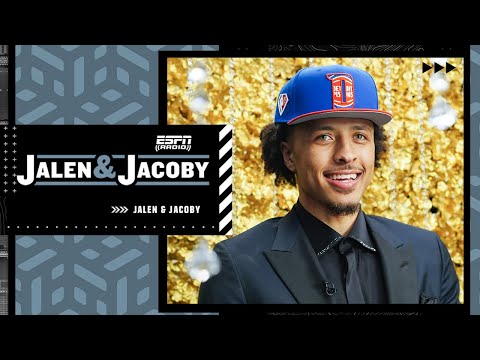 Cade Cunningham on being the No. 1 overall pick to the Pistons | Jalen & Jacoby