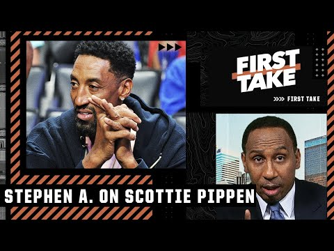 This is one of the most idiotic things Scottie Pippen has ever said – Stephen A. Smith   First Take