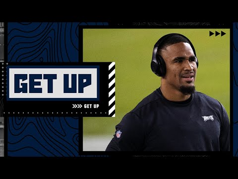 Can Jalen Hurts exceed expectations this season for the Eagles?   Get Up