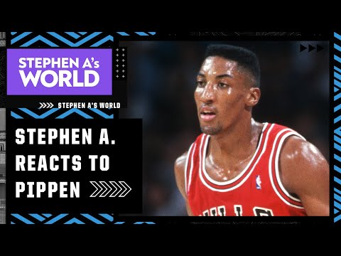 Stephen A. reacts to Scottie Pippen's comments about Phil Jackson: He should be 'ashamed of himself'