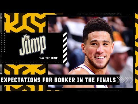 Discussing expectations for Devin Booker in the NBA Finals | The Jump