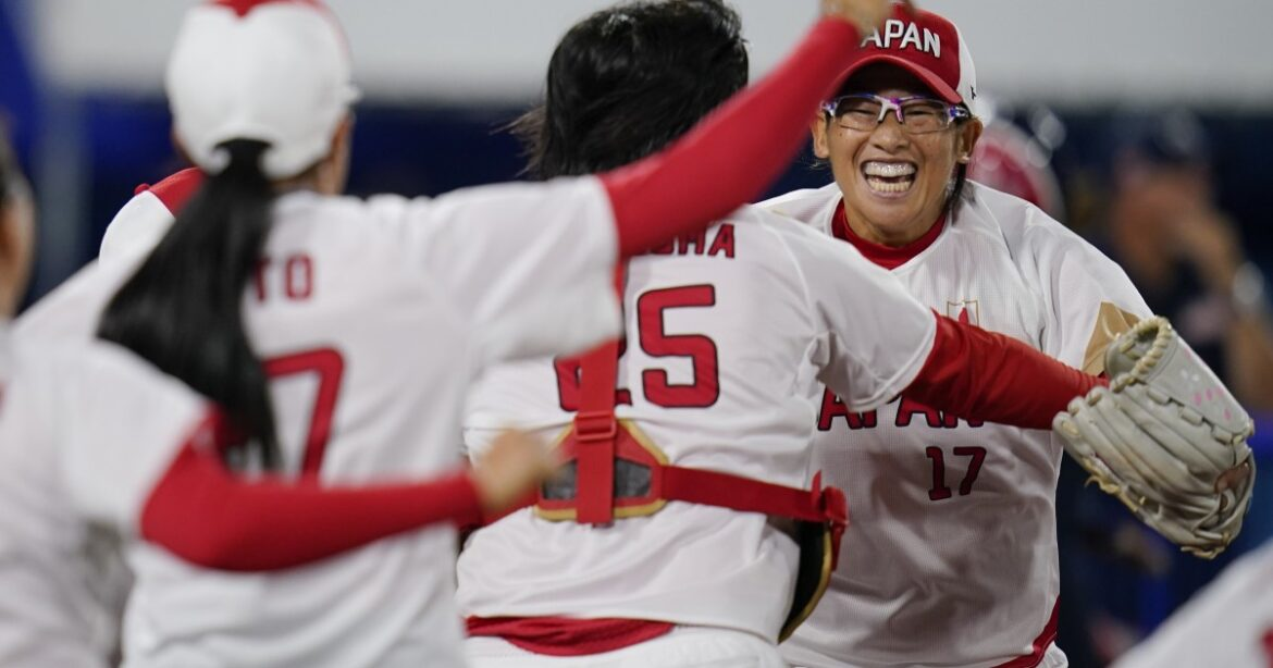 Japan defeats U.S. 2-0 in gold medal softball game
